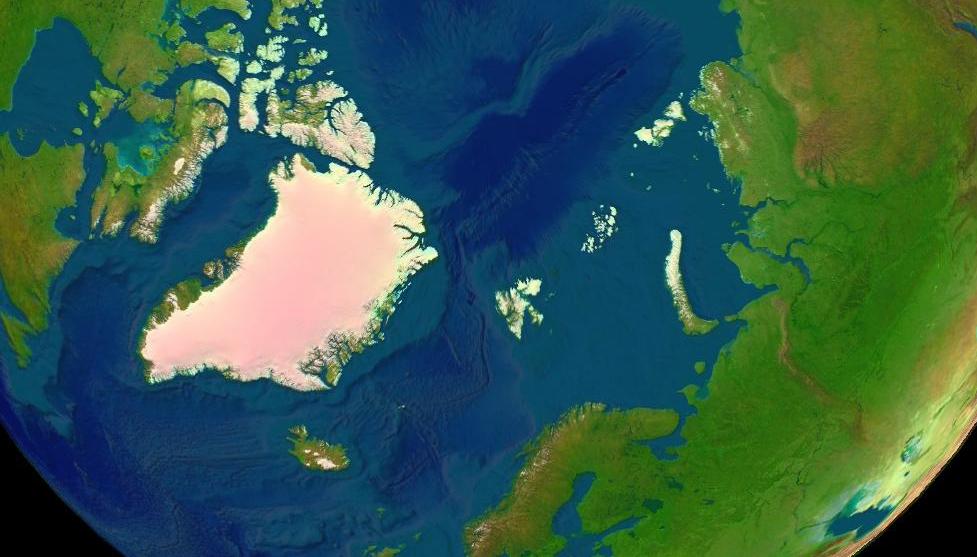 Arctica surface crop