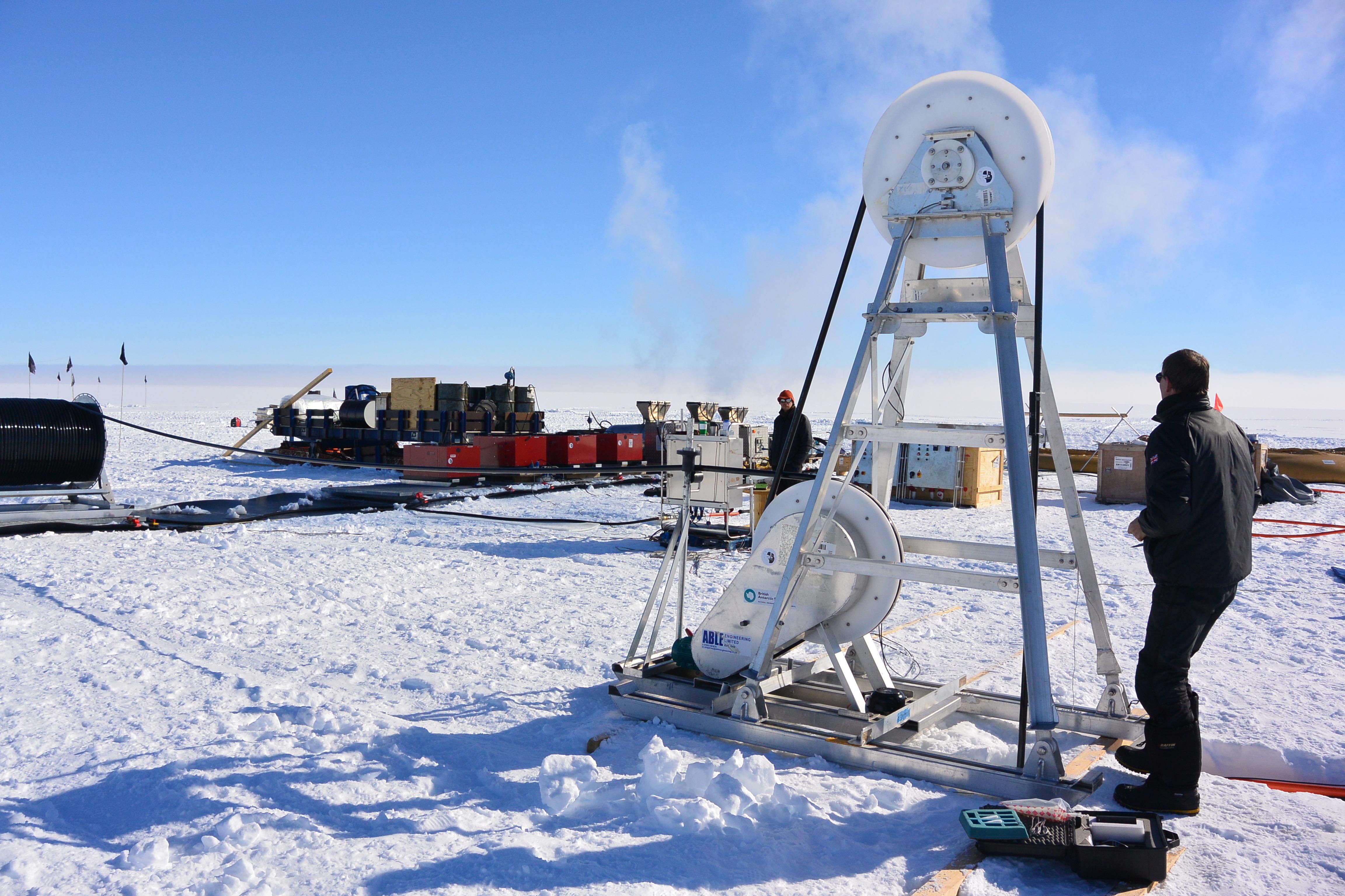 Drilling rig Foto Svein