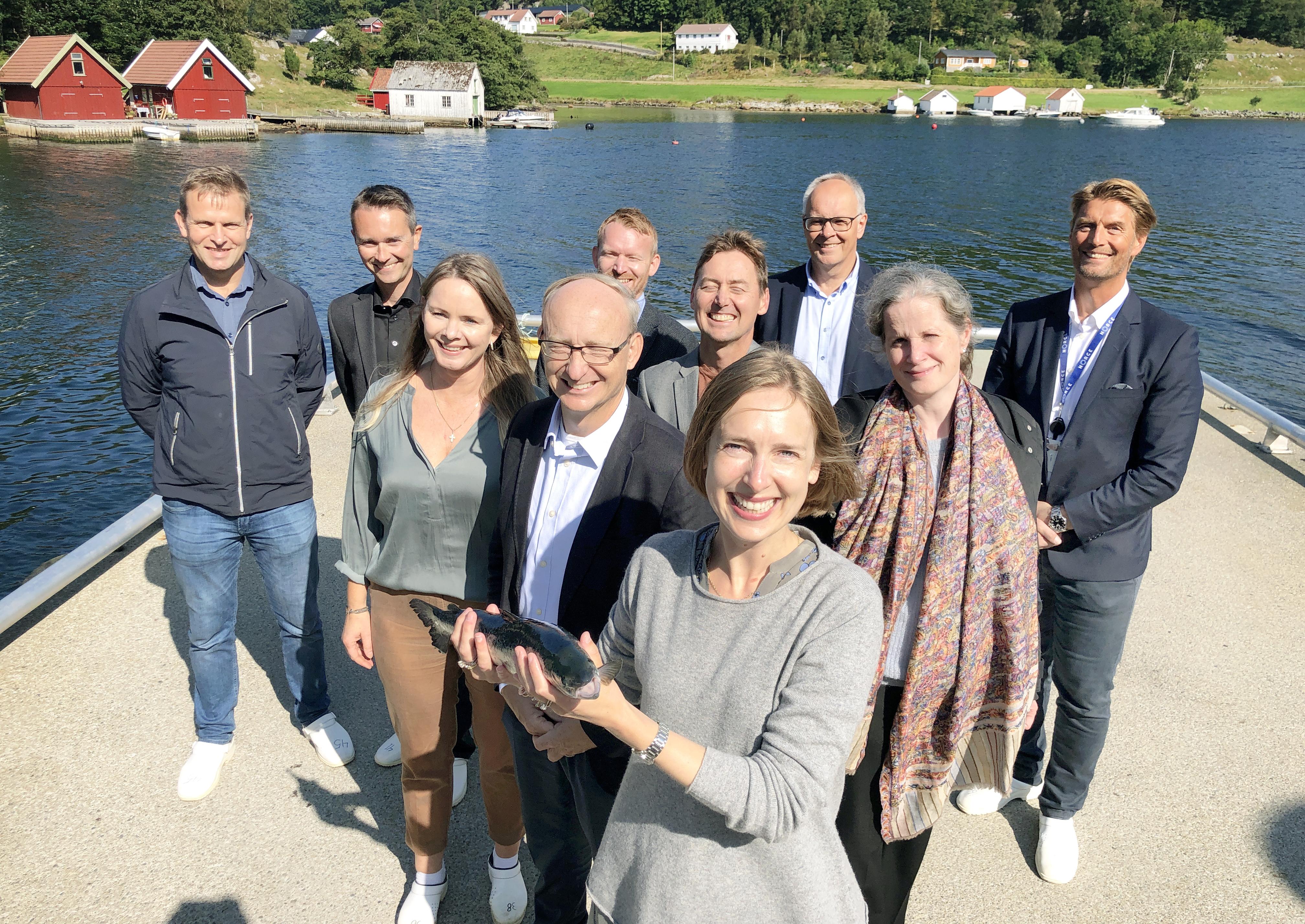 Grønn plattform Iselin offshore havbruk