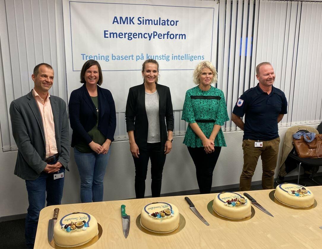 Kick off for prosjektet AMK simulator