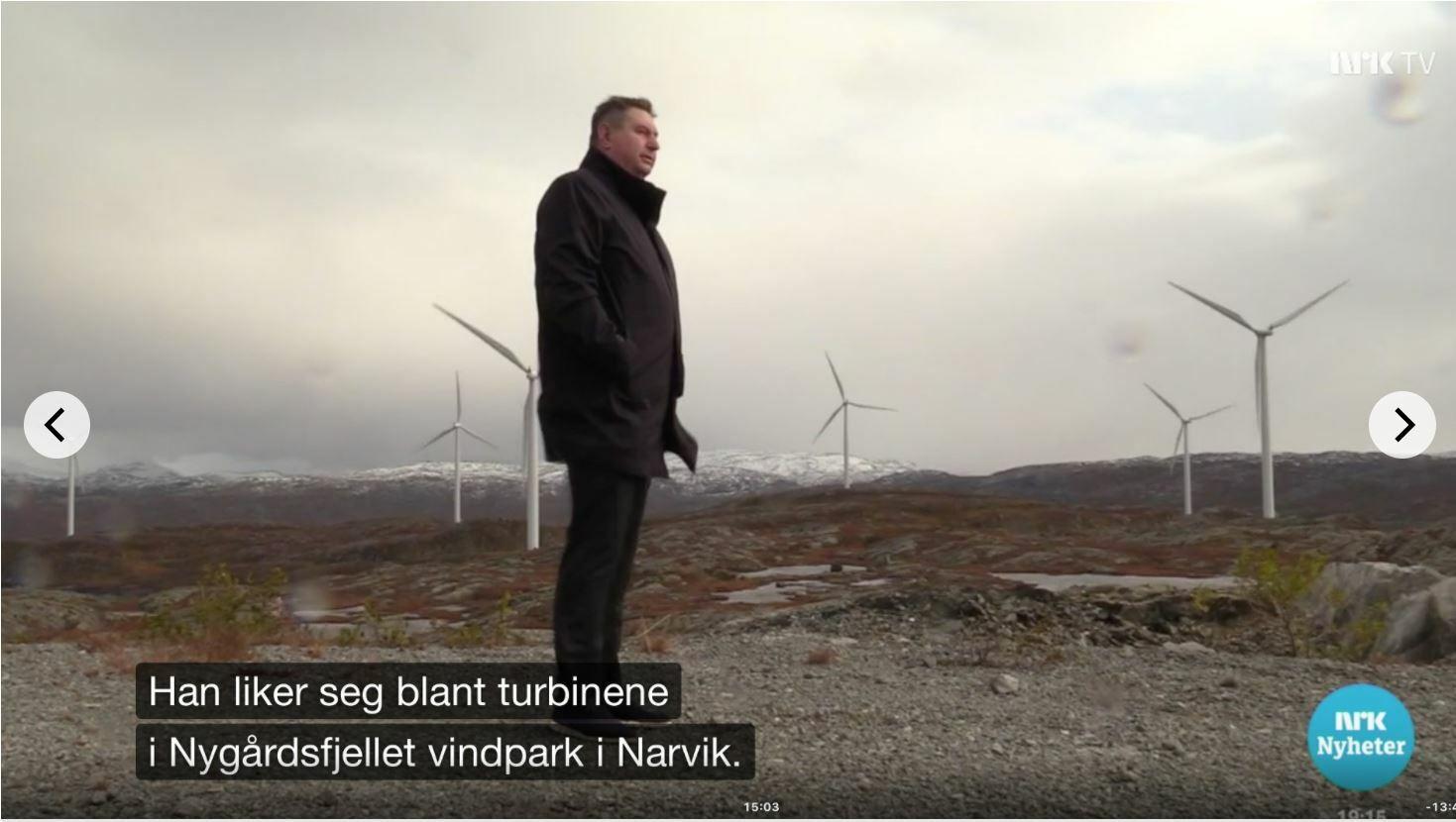 Skjermbilde NRK Dagsrevyen 20191001