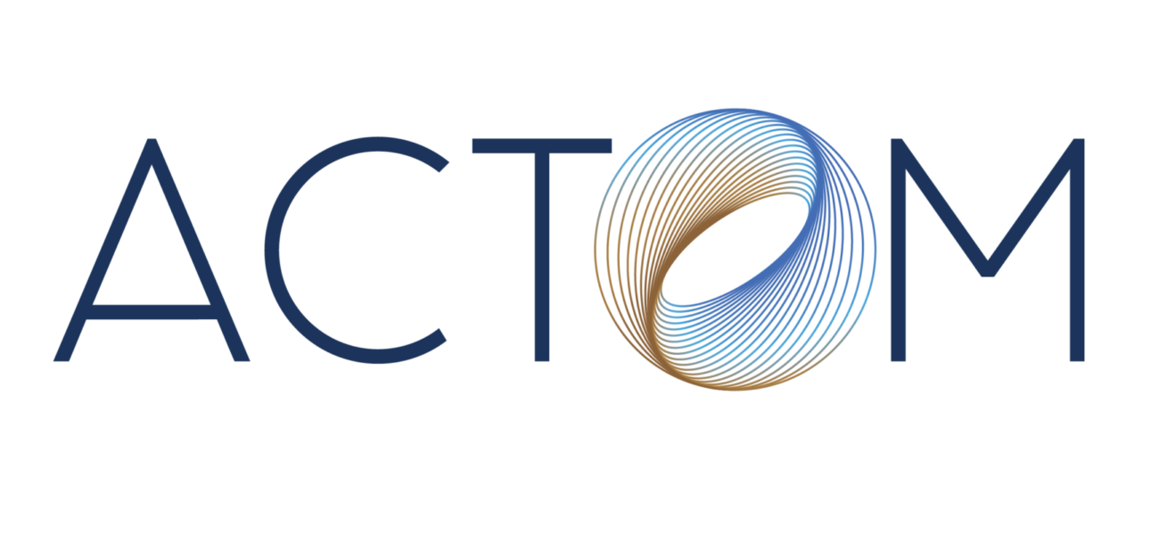 ACTOM logo colour highres wave