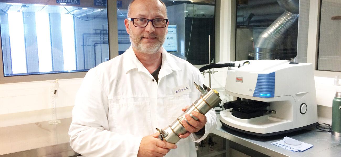 Alessio mikroplast instrument vann