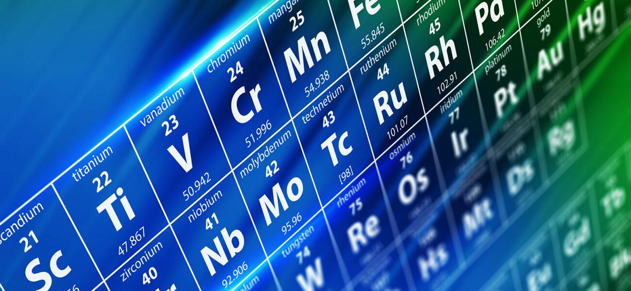 Periodic table COLOURBOX17064464 1600