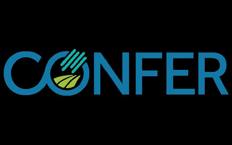 CONFER logo CONFER logo wordmark
