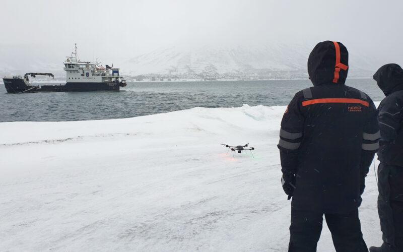 Drone Olje Overvaking
