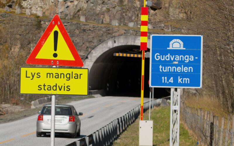 Tunnel-gudvanga