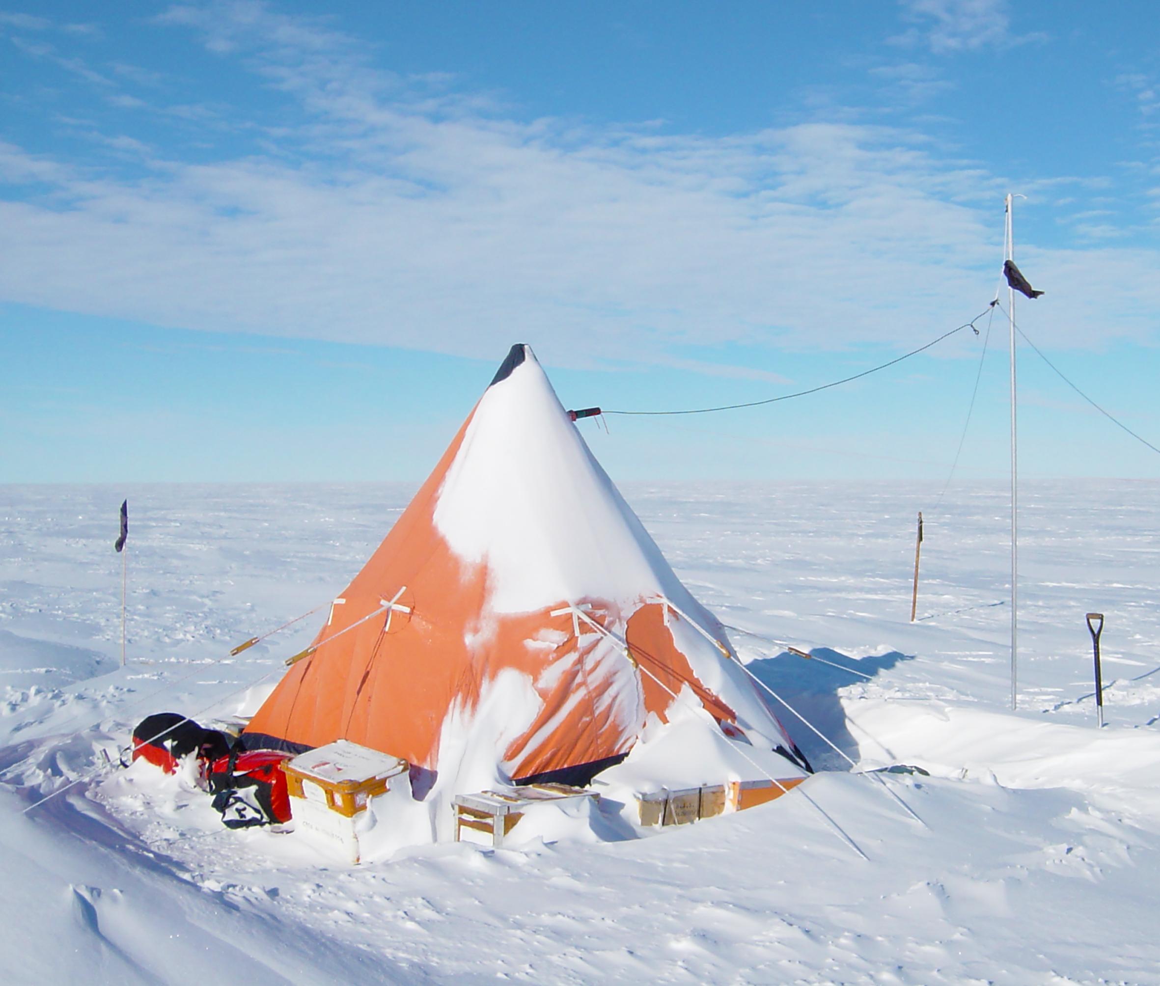 Telt Antarktis Ny